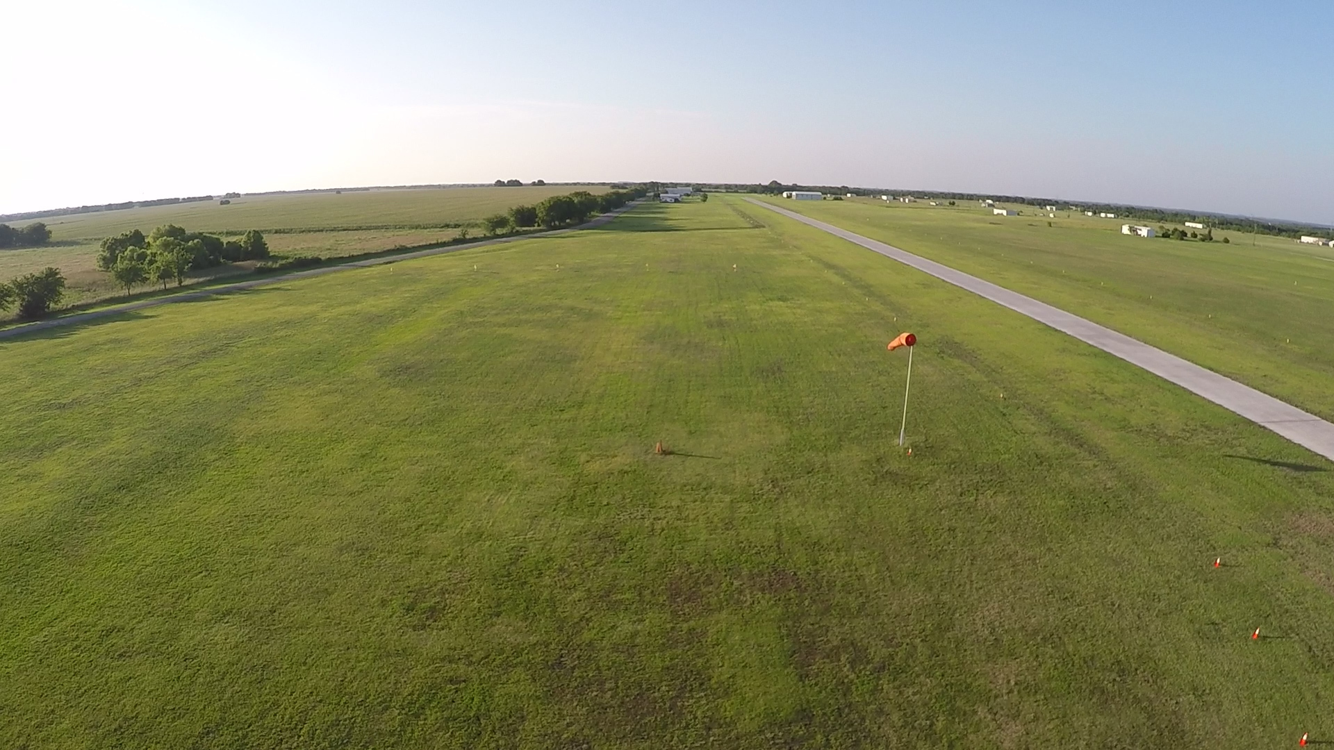 Next to the D license landing area is the B/C license area along the driveway.