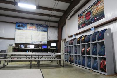 Skydiver Training Program area