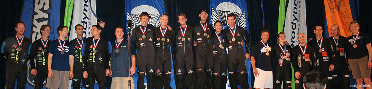 2009 National Skydiving Championships 4way Winners