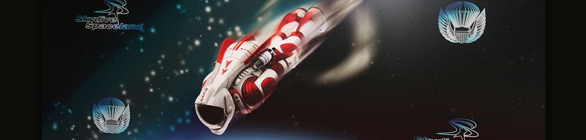 Skydive Spaceland Spaceman