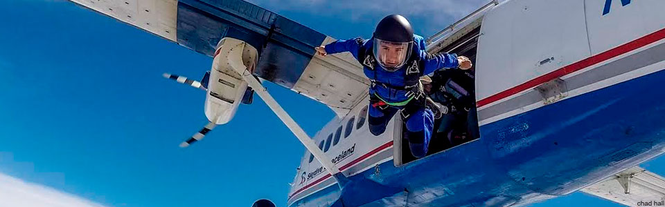 Skydiving Transitions events