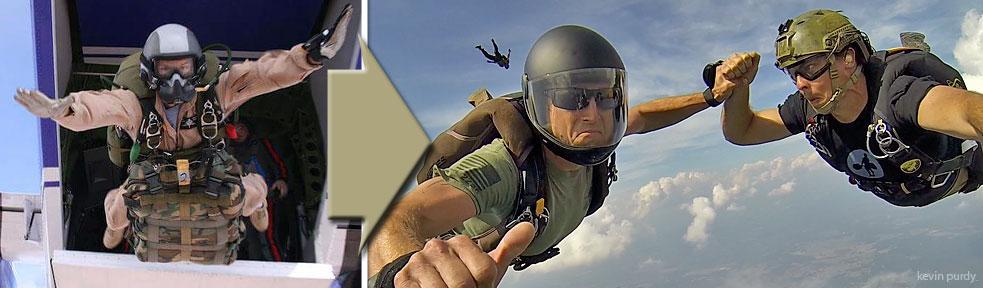 Skydive Spaceland Military Transition Program