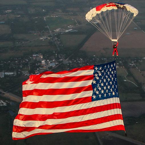 American Revolution Boogie Flag Jump