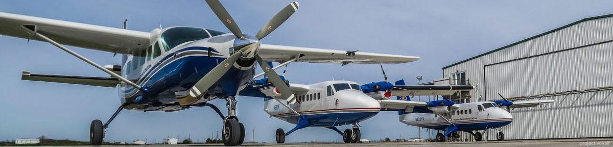 Skydive Spaceland Dallas aircraft