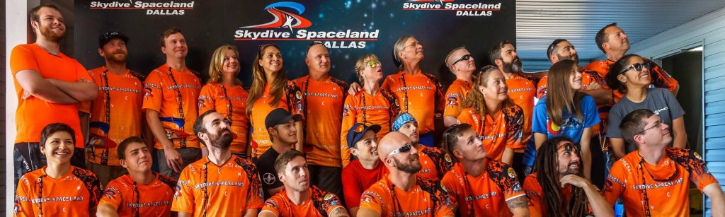 Skydive Spaceland Dallas Staff