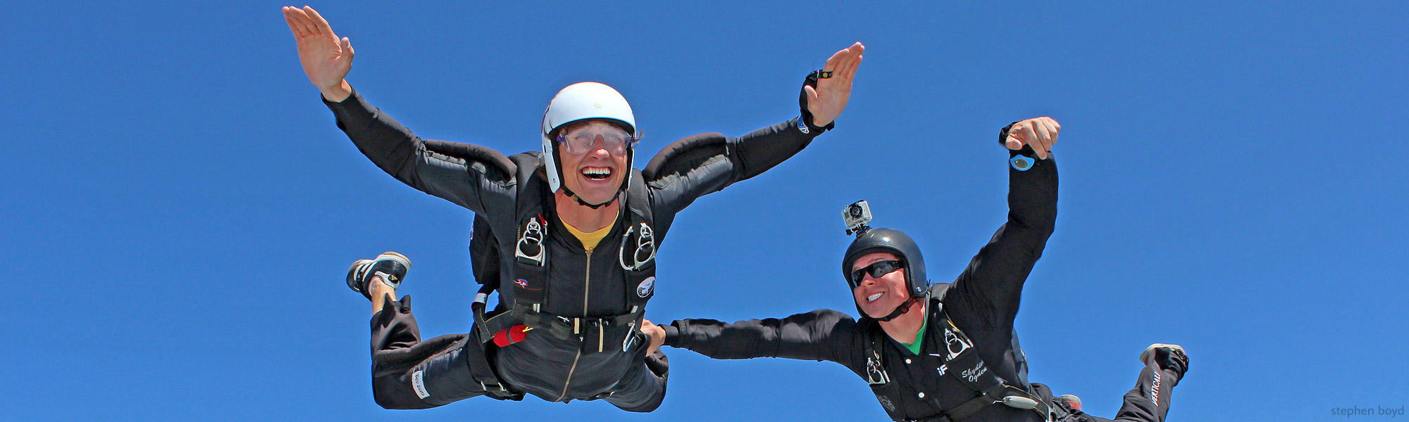 Skydiver Training Program at Spaceland