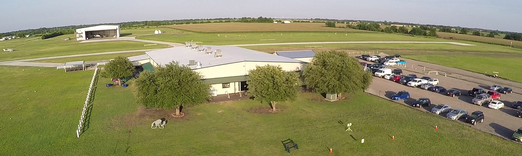 Skydive Spaceland Dallas aerial view