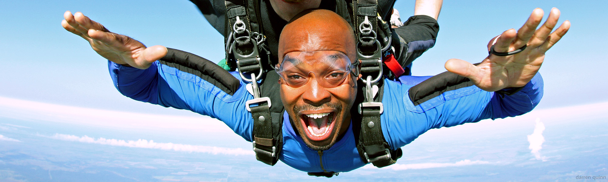 Tandem skydiving photos/video
