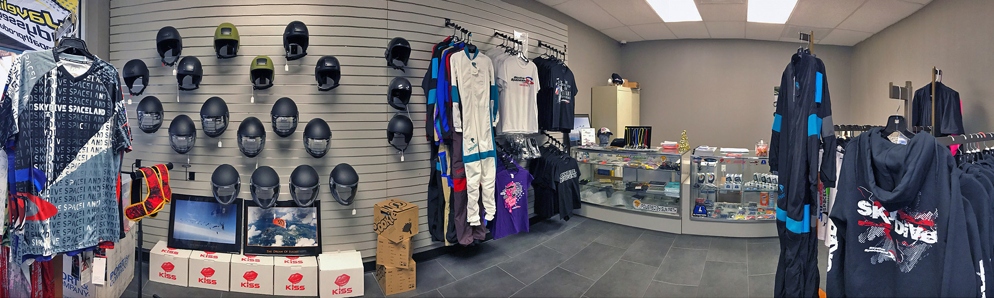 Skydive Spaceland Dallas Pro Shop